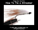 how to tie a streamer flytying video